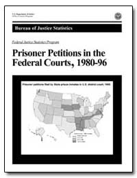 Prisoner Petitions in the Federal Courts... by Scalia, John