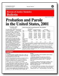 Bureau of Justice Statistics Bulletin : ... by Glaze, Lauren E.