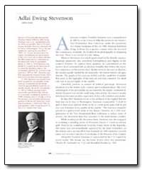 Adlai Ewing Stevenson by Government Printing Office