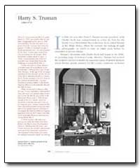 Harry S. Truman by Government Printing Office