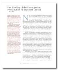 First Reading of the Emancipation Procla... by Government Printing Office
