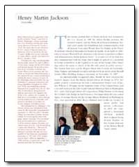 Henry Martin Jackson by Government Printing Office