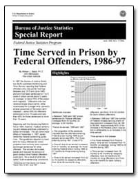 Bureau of Justice Statistics Special Rep... by Pascrell, William J., Jr.