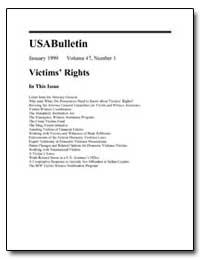 U.S.A. Bulletin January 1999 Volume 47, ... by University of Florida