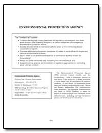 Environmental Protection Agency by Government Printing Office