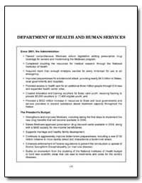 Department of Health and Human Services by Government Printing Office