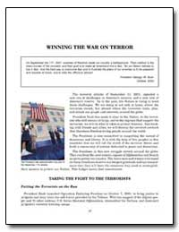 Winning the War on Terror by Government Printing Office