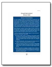 Intelligence Community : Analysis, Chapt... by Government Printing Office