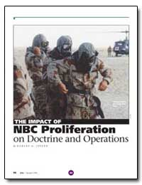 The Impact of Nbc Proliferation on Doctr... by Joseph, Robert G.