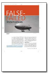 False Failed Innovation by Wilmoth, Gregory C.