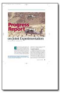 Progress Report on Joint Experimentation by Gehman, Harold W., Jr.