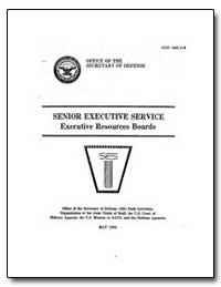 Executive Resources Boards by Department of Defense