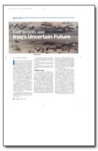 Gulf Security and Iraq's Uncertain Futur... by Marr, Phebe