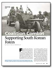 Coalition Combat Supporting South Korean... by Donnelly, William M.