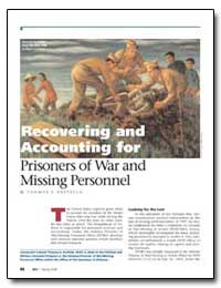Recovering and Accounting for Prisoners ... by Erstfeld, Thomas E.
