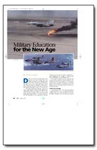 Military Education for the New Age by Rokke, Ervin J.