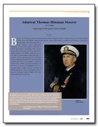 Admiral Thomas Hinman Moorer (1912–2004)... by Department of Defense