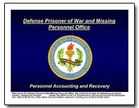 Defense Prisoner of War and Missing Pers... by Department of Defense