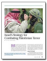 Israel's Strategy for Combating Palestin... by Amidror, Jacob