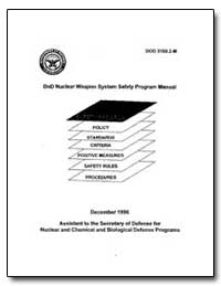 Dod Nuclear Weapon System Safety Program... by Department of Defense