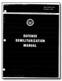 Defense Demilitarization Manual by Department of Defense