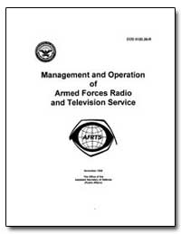 Management and Operation of Armed Forces... by Department of Defense