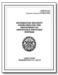 Information Security Guidelines for the ... by Department of Defense
