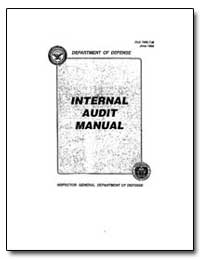 Internal Audit Manual by Crawford, Susan J.