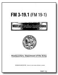 Military Police Operations by Shinseki, Eric K.