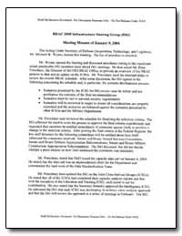 Brac 2005 Issues Briefing to the Infrast... by Department of Defense