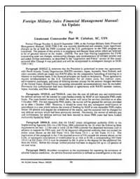 Foreign Military Sales Financial Managem... by Callahan, Paul W., Lieutenant Commander
