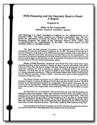 Fms Financing and the Guaranty Reserve F... by Department of Defense