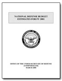 National Defense Budget Estimates for Fy... by Department of Defense