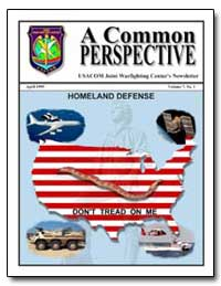 Usacom Joint Warfighting Centers Newslet... by Bougard, Al, Commander