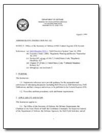 Office of the Secretary of Defense Feder... by Department of Defense