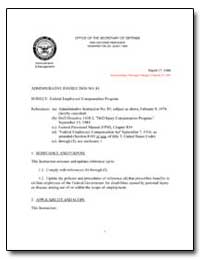 Federal Employees Compensation Program by Department of Defense