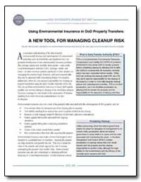 Using Environmental Insurance in Dod Pro... by Department of Defense