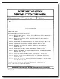 Department of Defense Directives System ... by Curry, Larry Edward