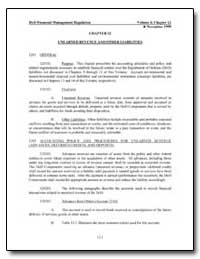 Chapter 12 Unearned Revenue and Other Li... by Department of Defense