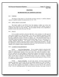 Chapter 4 Reimbursement of Adoption Expe... by Department of Defense