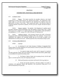 Chapter 1 Introduction and Overall Requi... by Department of Defense