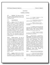 Chapter 9 Internal Controls by Department of Defense
