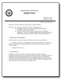 Secretary of Defense Corporate Fellows P... by Department of Defense