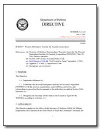 Western Hemisphere Institute for Securit... by Department of Defense