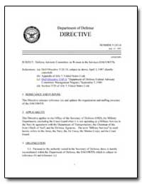 Defense Advisory Committee on Women in t... by Department of Defense