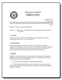 Defense Technology Board (Dtb) by Department of Defense