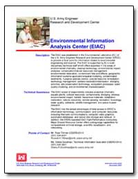 Environmental Information Analysis Cente... by Department of Defense