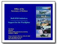 Dod Dms Initiatives Support for the Warf... by Glum, Ted