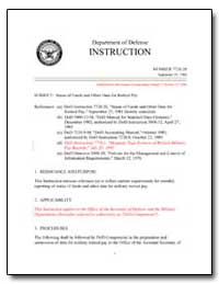 Status of Funds and Other Data for Retir... by Department of Defense