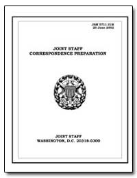 Joint Staff Correspondence Preparation by Department of Defense